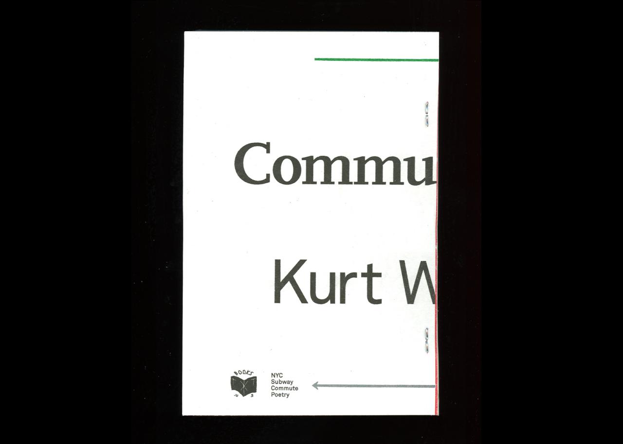 TXTbooks Commute Alors! – Kurt Woerpel