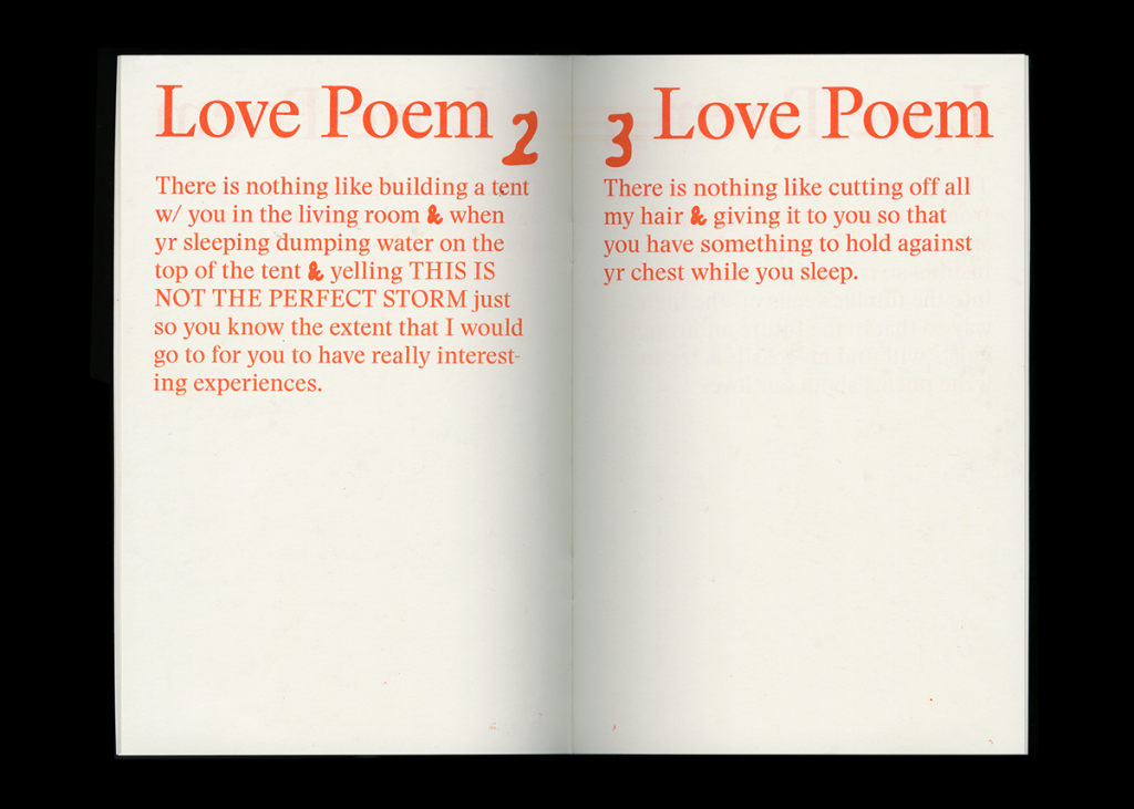 TXTbooks Love Poems – Annie Paradis
