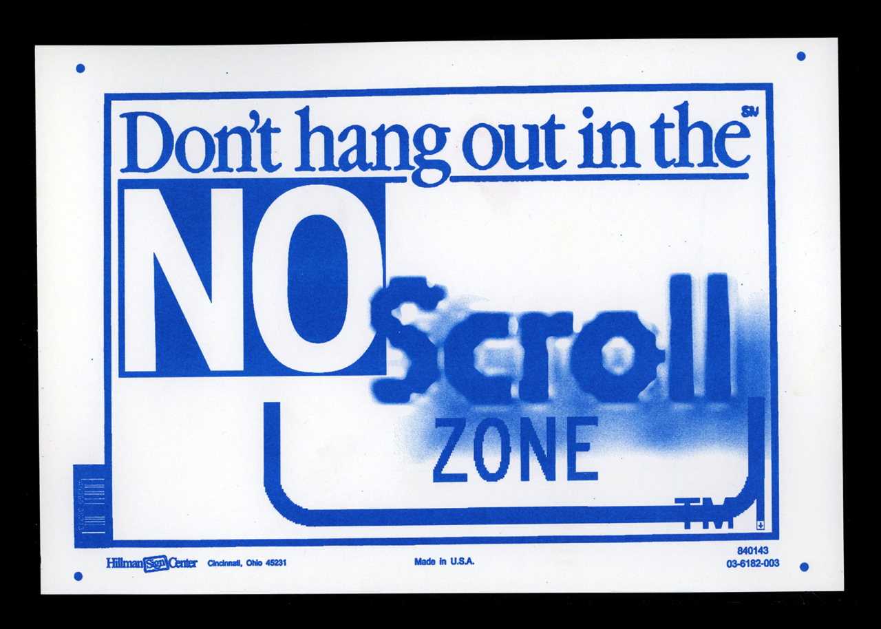 TXTbooks Absolutely No Scroll Zone – Kurt Woerpel