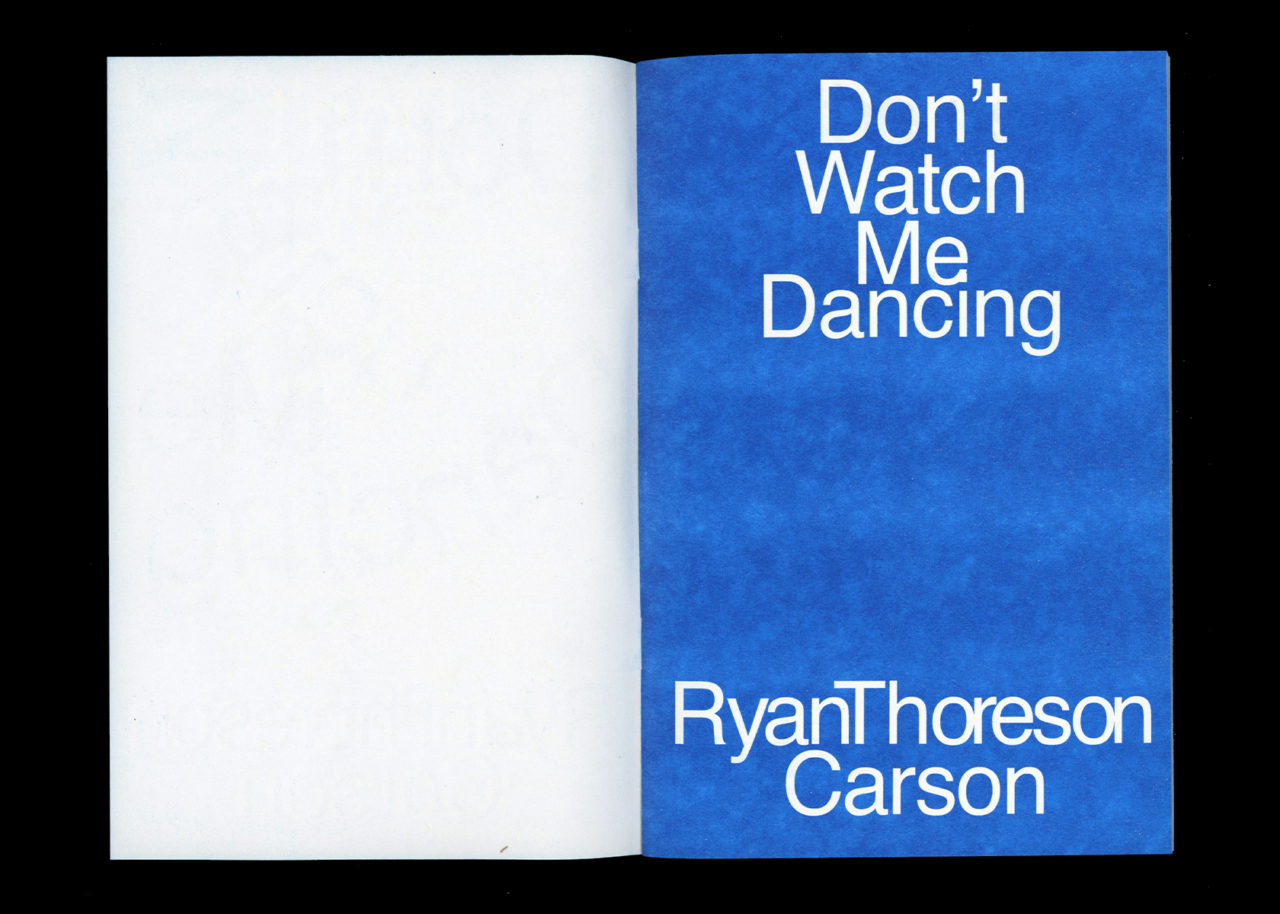 TXTbooks Don't Watch Me Dancing – Ryan Carson