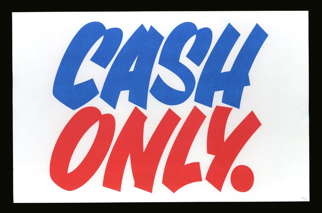 TXTbooks Cash Only – Pete Florentini