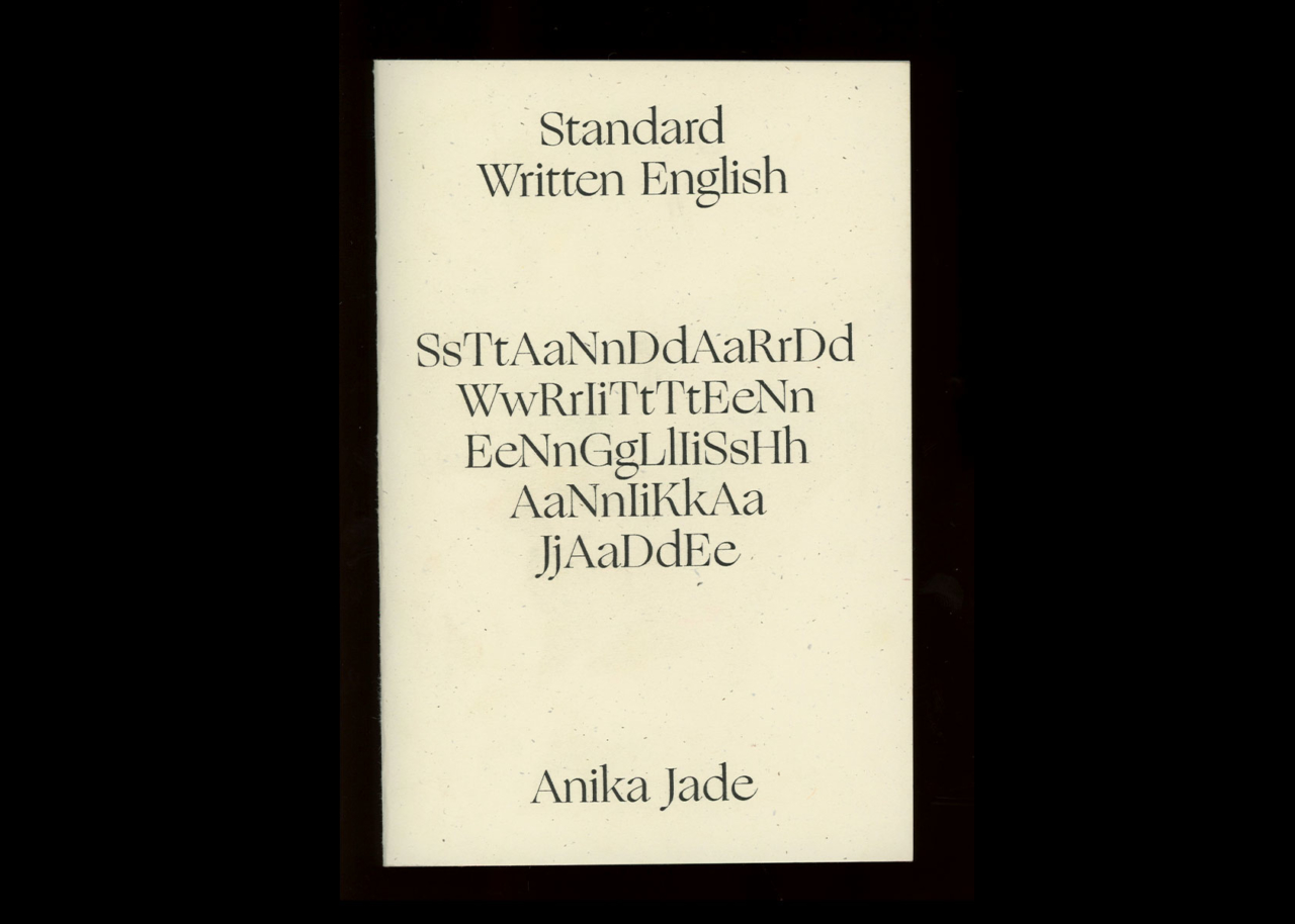 TXTbooks Standard Written English – Anika Jade
