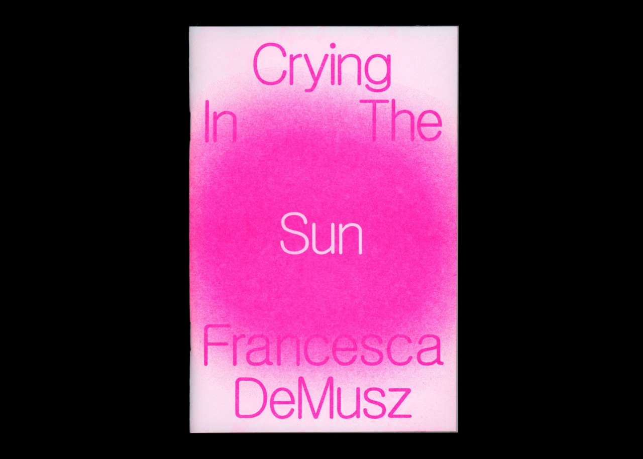 TXTbooks Crying In The Sun – Francesca DeMusz