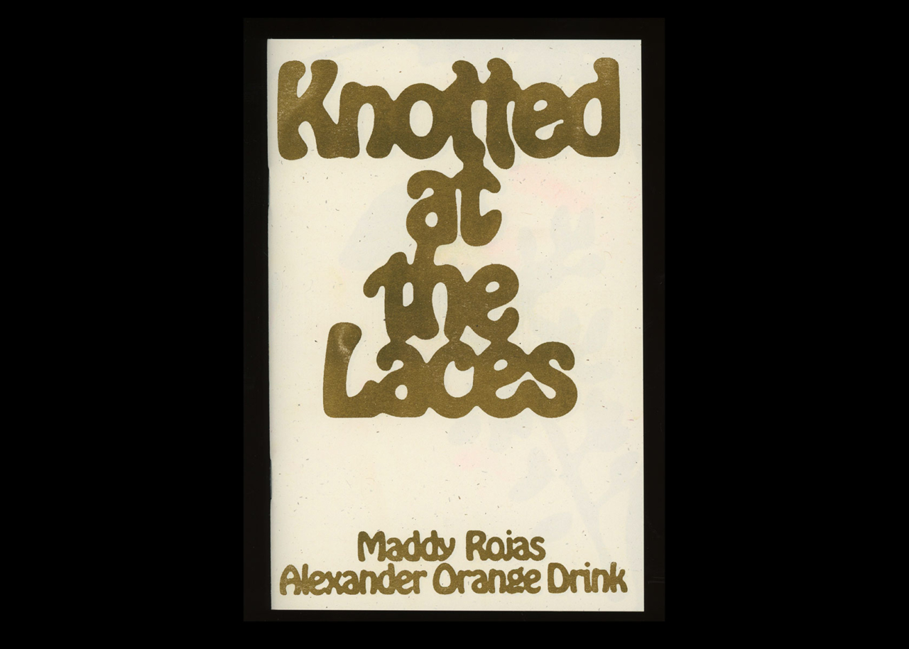 TXTbooks Knotted At The Laces – Maddy Rojas and Alexander Orange Drink