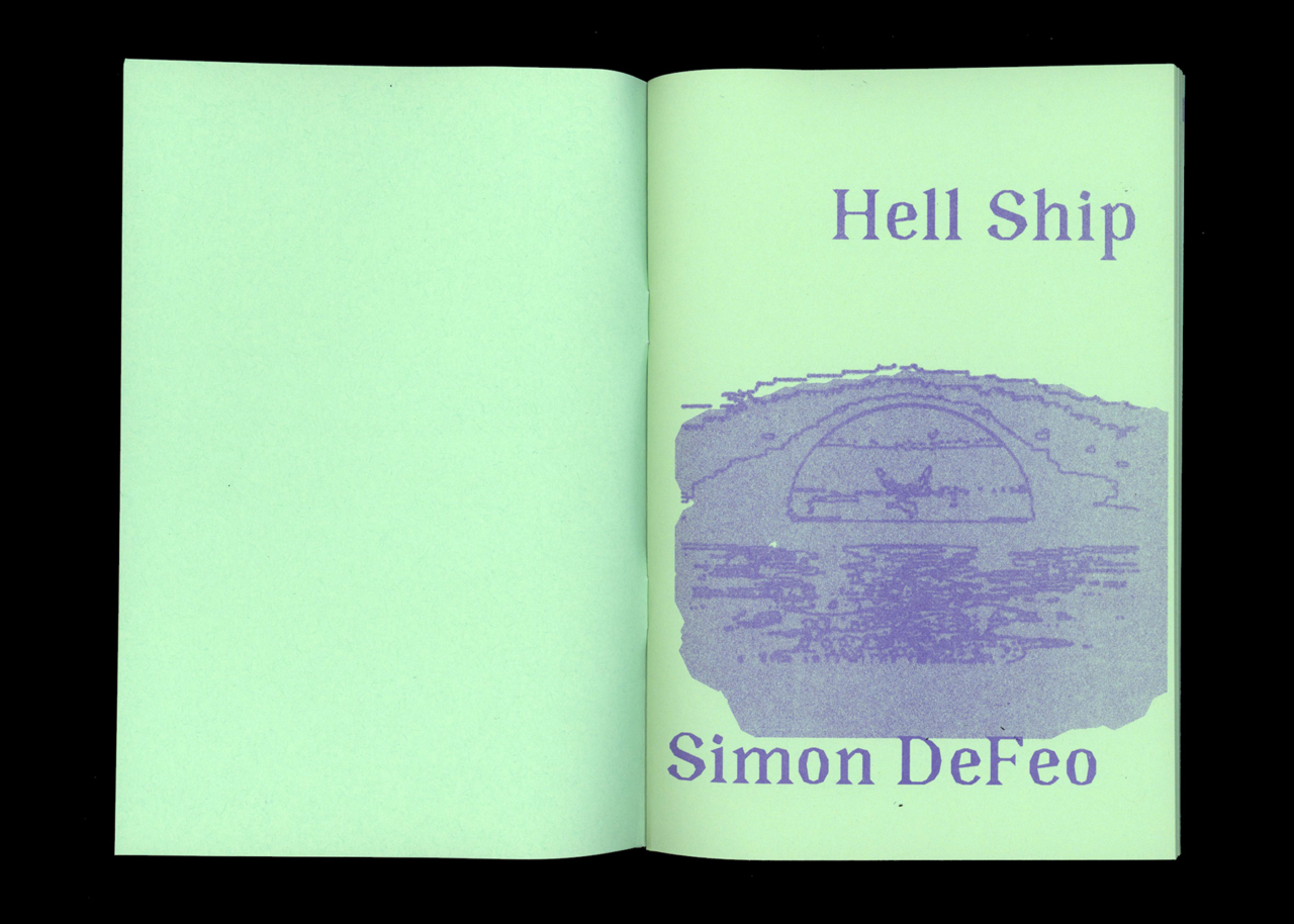 TXTbooks Hell Ship – Simon DeFeo